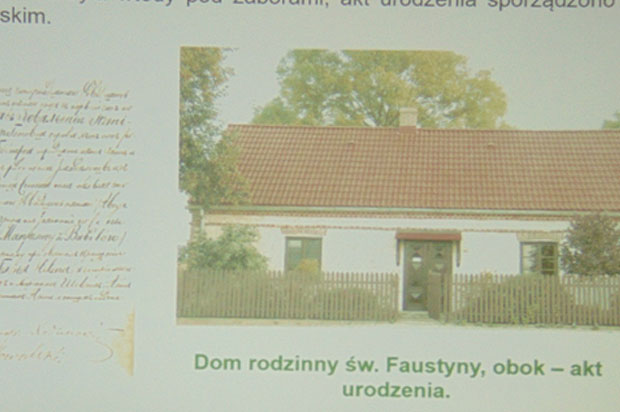 Dzień Biografia Siostry Faustyny w Dziennym Domu dla Osób Starszych