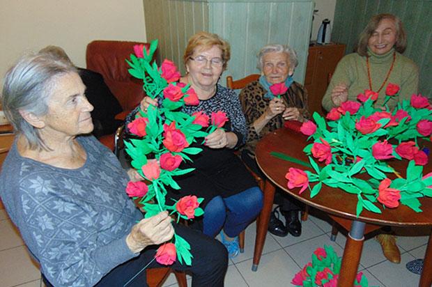 Terapia manualna w Dziennym Domu dla Osób Starszych