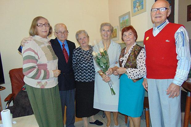 Imieniny w Dziennym Domu dla Osób Starszych