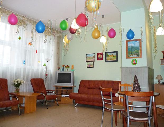 Salon W Dzienny Domu dla Osób Starszych